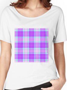 TARTAN-PINK 2 Women's Relaxed Fit T-Shirt