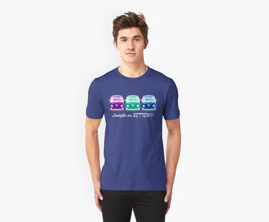 Lowlights are BETTER!! Kombi Shirt - Purple, Green, Blue by melodyart