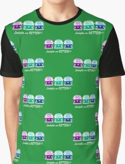 Lowlights are BETTER!! Kombi Shirt - Purple, Green, Blue Graphic T-Shirt