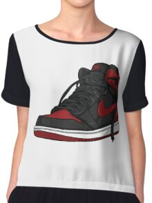 "Air Jordan 1 ""BRED"" Chiffon Top"