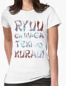 Ryuu ga waga teki wo kurau! - Hanzo Ulti Womens Fitted T-Shirt