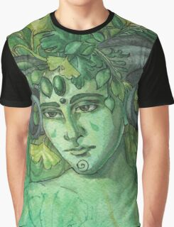 Greenman Graphic T-Shirt