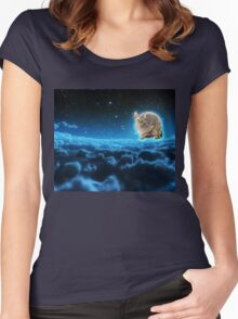 Beautiful Night, Is It Not? Women's Fitted Scoop T-Shirt