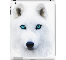 White Wolf in the snow iPad Case/Skin