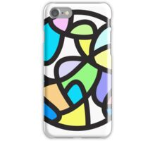 Stained Glass Abstract Design iPhone Case/Skin