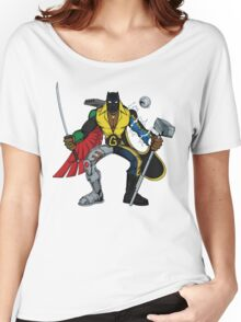 Mashups: Black Heroes Women's Relaxed Fit T-Shirt
