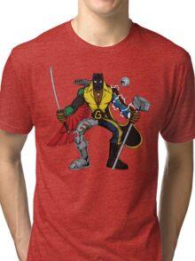 Mashups: Black Heroes Tri-blend T-Shirt