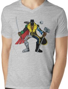 Mashups: Black Heroes Mens V-Neck T-Shirt
