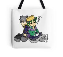 Darius and Matthew Tote Bag