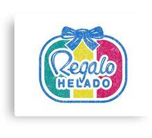 Regalo Helado Canvas Print
