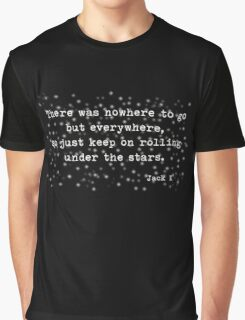 Under the stars. Kerouac Graphic T-Shirt