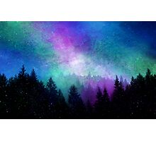 Aurora Borealis Night Sky Photographic Print