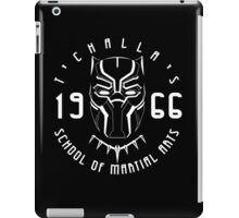 T'challa's School of Martial Arts iPad Case/Skin