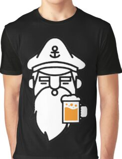 Beard With Beer Graphic T-Shirt
