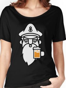 Beard With Beer Women's Relaxed Fit T-Shirt