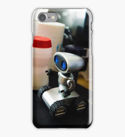 Office Robot iPhone Case/Skin