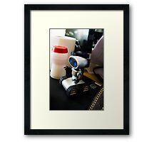 Office Robot Framed Print