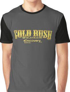 Gold Rush Alaska logo Graphic T-Shirt