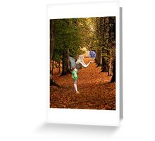 Autumn Faerie Greeting Card