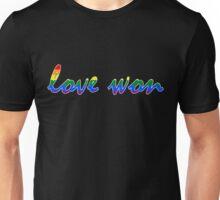 Love Won b Unisex T-Shirt