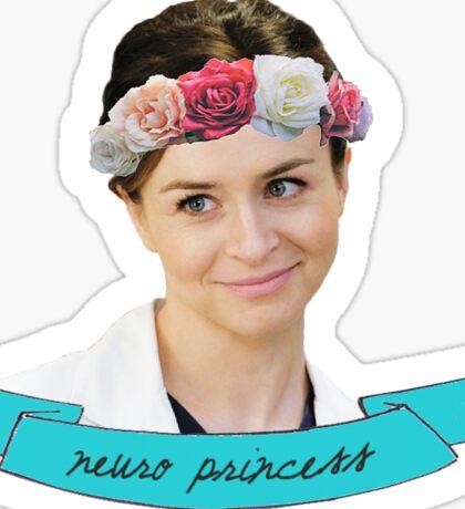 Amelia Shepherd: Neuro Princess Sticker