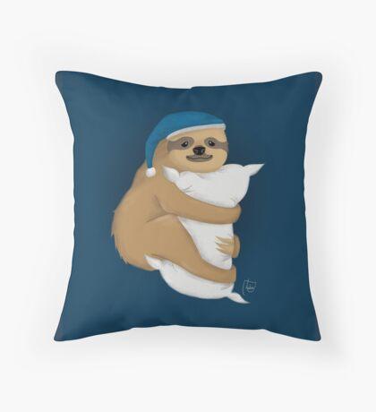 Sloth Mood Throw Pillow