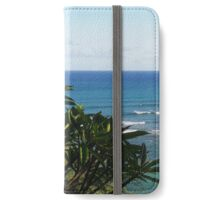 Plumeria: Honolulu, Hawai'i iPhone Wallet/Case/Skin
