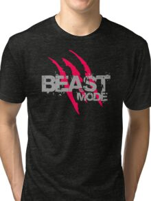 Beast Mode With Claws Tri-blend T-Shirt