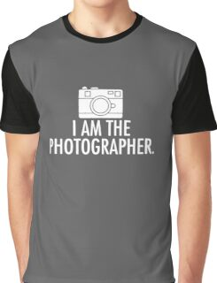 I Am The Photographer logo Graphic T-Shirt