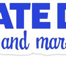 State DM Media and Marketing Sticker Sticker