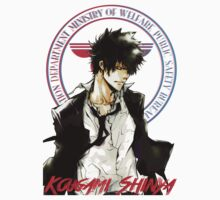 Kougami Shinya with stamp psycho pass Baby Tee