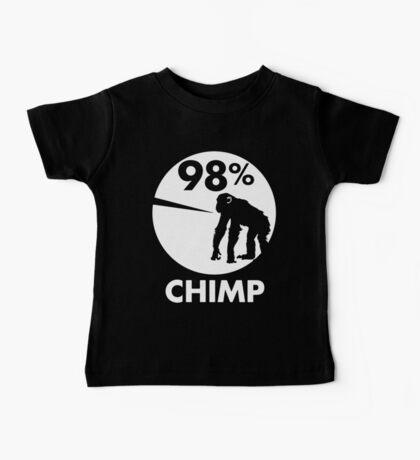 98 Percent Chimp Baby Tee