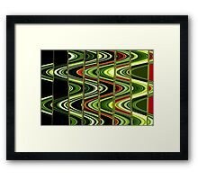 Martian Road to Nowhere Framed Print