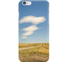 Interesting Clouds In Big Sky Country iPhone Case/Skin