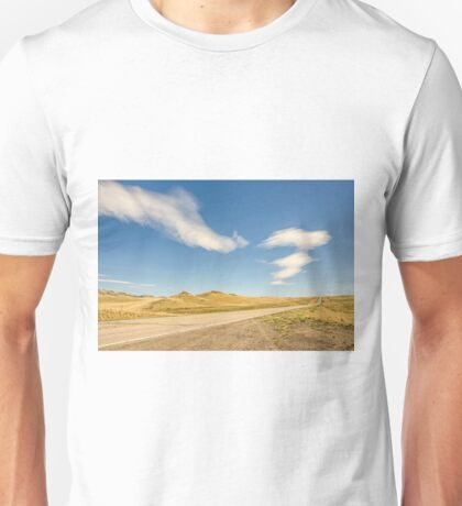 Interesting Clouds In Big Sky Country Unisex T-Shirt