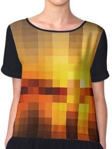 Nature Pixels No.19 Chiffon Top