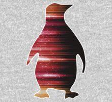 Warp Speed Penguin  One Piece - Long Sleeve