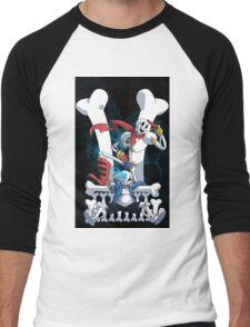 Sans and Papyrus Men's Baseball ¾ T-Shirt