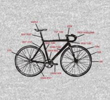 Bike Anatomy One Piece - Short Sleeve