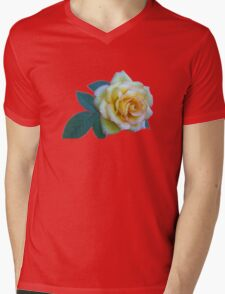 The Friendship Rose Mens V-Neck T-Shirt