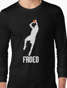 Faded - White Long Sleeve T-Shirt