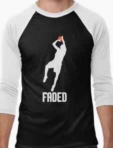 Faded - White Men's Baseball ¾ T-Shirt