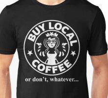 Buy Local Coffee Unisex T-Shirt