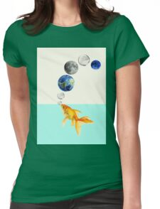 Just breath Womens Fitted T-Shirt