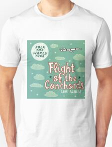 Flight of the Conchords - Folk the World Tour Unisex T-Shirt