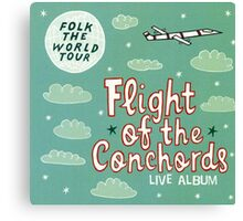 Flight of the Conchords - Folk the World Tour Canvas Print