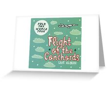 Flight of the Conchords - Folk the World Tour Greeting Card