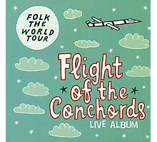 Flight of the Conchords - Folk the World Tour Photographic Print