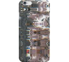Wood ink pattern/glitch iPhone Case/Skin