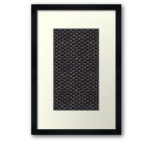 Goyard Black Phone Cases/Skins Framed Print